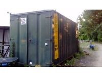 builders yard storage space container storage land for rent