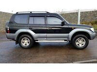 TOYOTA LANDCRUISER COLORADO VX A 3.0 DIESEL AUTO 4X4 FULL LEATHER 8 SEATER