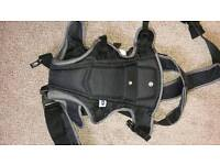 Baby carrier with bib