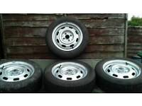 Mazda mx5 14 inch wheels with tyres £50