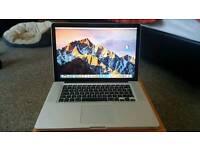 """Macbook Pro 15"""" mid 2012 top specs"""