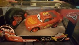 Brand new Disney cars lightening McQueen remote control car