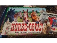 Horse Themed Monopoly Board Game