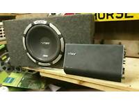 """Vibe 12"""" sub with amplifier"""