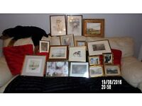 Job lot of late grans framed pictures , priced for quik sale -bargain