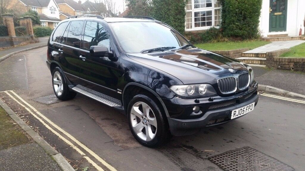 2005 Bmw X5 3 0d Sport Automatic Black Sat Nav Sunroof Service History Mot Nov 18 In