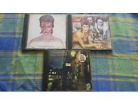 3 David Bowie Albums