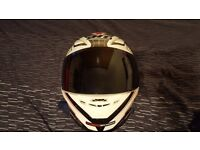 MT Revenge Limited Evo Motorcycle Helmet - Dark smoke visor included