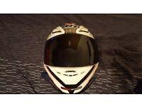MT Revenge Limited Evo Motorcycle Helmet - Dark smoke visor included