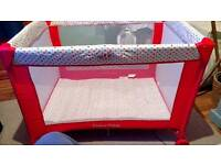 Cot/playpen for sale