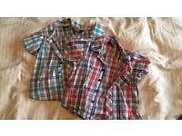 Boys Trespass Shirts. Age 3-4