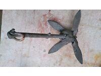 1.4 kg galvanised folding anchor