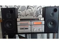 Quality Sony hifi with speakers