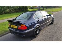 1999 bmw 323i 2.5 petrol--full mot-low mileage 105k**1 owner**3 keys**FSH**VGC