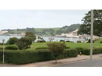 Ground floor ONE BEDROOMED retirement flat with PANORAMIC VIEWS OVER SWANAGE BAY. South/East aspect