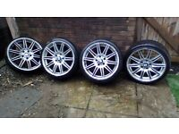 "Bmw MV4 19"" Inch Alloy Wheels"