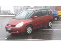 2006 Renault espace 7 seater 6 speed ,FSH STUNNING CONDITION