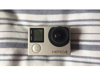 Go Hero4 Silver with memory card