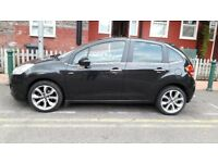Citroen C3 1.6 HDi 16v Exclusive 5dr, diesel, road tax only 20 pounds per year