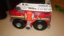 Tonka strong arm fire engine toy