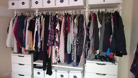 Wardrobe / Storage Solution: IKEA STOLMEN complete set to go! Pickup only