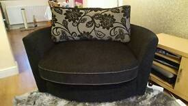 SCS Large Swivel Cuddle Chair