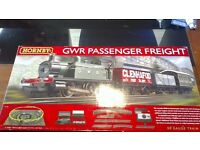 Hornby GWR Passenger Freight   00Guage train set   Hornby Ring + Expansion A