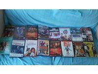 Range of dvds 50p each boxsets £2