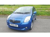 Toyota Yaris 1.3 VVT-i T Spirit 5dr 2006.lFull service history,62000 miles, 2 Former keepers