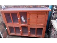 Guinea pig/rabbit Hutch £50.00 York