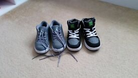 Nike Jordan and DC Rebound toddler trainers