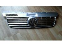VW T5 Grill Silver