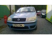 03 fiat punto spares complete car £130 spares or repair