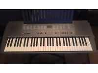 Yamaha PSR 200 Keyboard and Stand For Sale