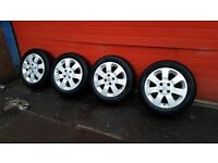 vauxhall corsa alloys wheels and tyres