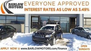 2011 Jeep Compass Sport/North*EVERYONE APPROVED*APPLY NOW DRIVE