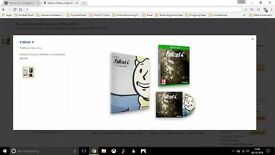 Fallout 4 (Xbox One) with Official Franchise Book & Soundtrack BRAND NEW