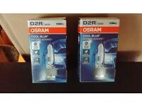 2x Osram HID Xenon Cool Blue Intense D2R CBI 35W Xenarc