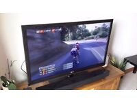 """LG 32"""" Led Full Hd 1080p tv Freeview Built in Excellent Condition Original Box"""