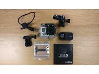 GoPro / Go Pro HERO3 Black Edition camera and accessories