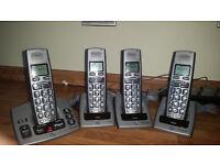 BT Freestyle 750 Quad Telephone System... Phones