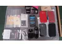 Samsung Galaxy Ace 3 GT-S7275R 8GB Touchscreen Smartphone Mobile Phone Bundle