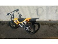 """MOTOBIKE MXR450 KIDS BIKE 16"""" WHEEL IN EXCELLENT CONDITION AVAILABLE FOR SALE"""