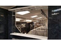 EX-DISPLAY BATHROOM MIRROR WITH LED SPOTLIGHTS BY AMBIANCE BAIN