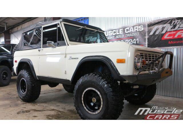 Ford: Bronco Bronco 1971 ford bronco