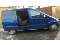 MERCEDES BENZ 1.6 VANEO TREND MPV 52 REG ONLY 66000 MILES