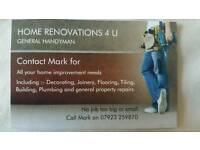 HOME RENOVATIONS 4 U property maintenance and gardening services