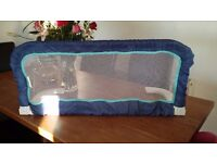Blue Bed guard - Great condition