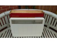 Dimplex 750w PLX Panel Heater - Willow White Ultra slim panel convector heater