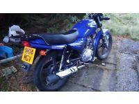 Jianshe 125cc 700 miles on the clock